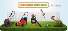 E-shopping and lawn and garden equipment