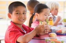 First school district with 100% organic, non-GMO meals makes the grade