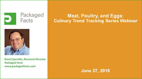 Packaged Facts Protein & Center Plate Trends: Meat, Poultry, and Eggs Webcast