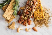Nutritional bars trend from sweet to savory