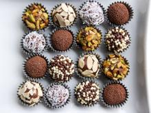 Worldly snack tracking: Brazilian brigadeiros
